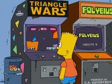 Bart arcades fliperama
