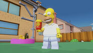 Lego Dimensions Homer Simpson