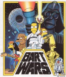 Simpson bart wars