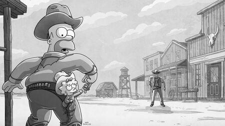 Simpsonowie vs. Gunsmoke