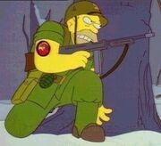Abe Simpson Army