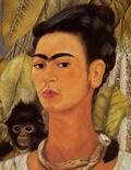 Autorretrato Com Um Macaco 1938 2