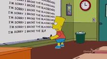 Black-eyed Please Chalkboard Gag