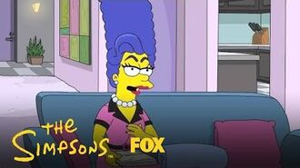 Everyone Thinks Marge Is A Drag Queen Season 30 Ep. 7 THE SIMPSONS