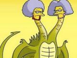 Patty and Selma Dragon