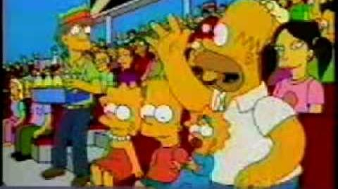 Simpsons Japanese Commercial No