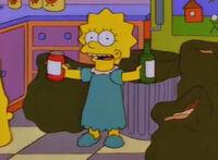 Lisa segreguje odpady