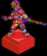 Abe's Rainbow Statue TSTO