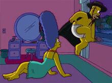 Marge homer fantasia 3 18x15 adios