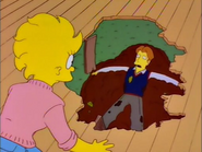 S6E19 Hugh lying in a pile of manure