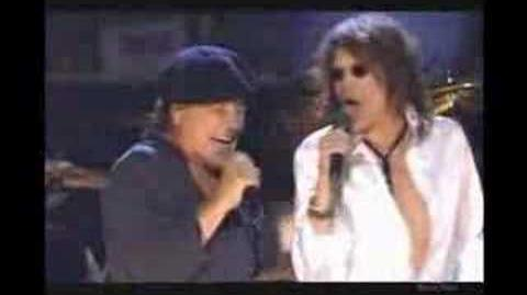 You shook me all night long ACDC & Steven Tyler