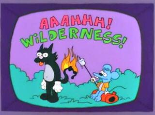 Comichão e coçadinha wilderness 1