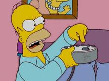 Homer maquina de fazer barulho