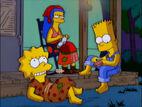 Southern Bart and Lisa