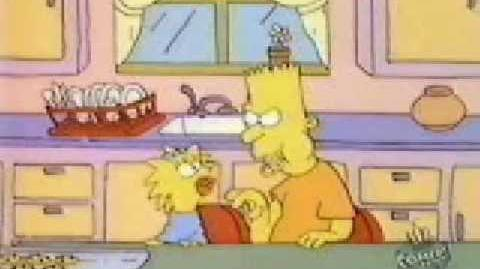 The Simpsons (Tracy Ullman Show) - The Perfect Crime (MG16)