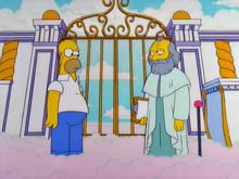 Homer e são pedro