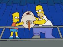 Bart homer melado moe