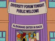 Forum diversidade escola albanianos