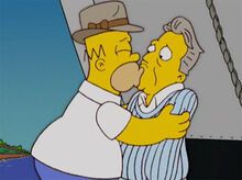 Homer beija mason