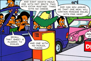 Octuplets at Krusty Burger