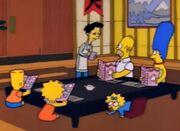 Simpsons sumo feliz