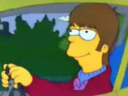The Simpsons Glow in the Dark Radioactive Homer ADJ Figure World of Springfield