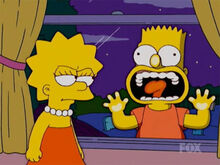 Lisa bart zumbi atak