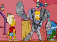 Bart vs davd robotrumble