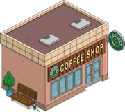 Coffee shop tapped out