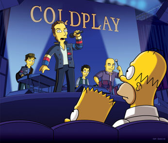 Simpsons MillionDollarMaybe Coldplay R2F