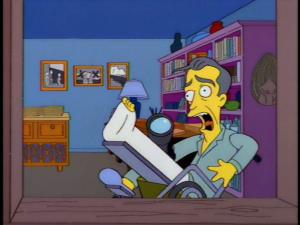 Simpsons janela indiscreta