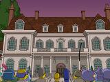 Mr. Burns' Middle Hampton Mansion