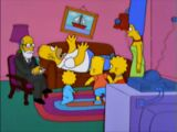 Therapy couch gag