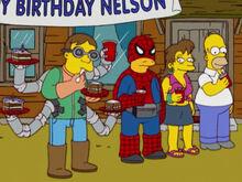 Homer mãe nelson aniversário