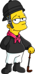 Jockey bart tapped out