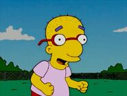 Milhouse without hair