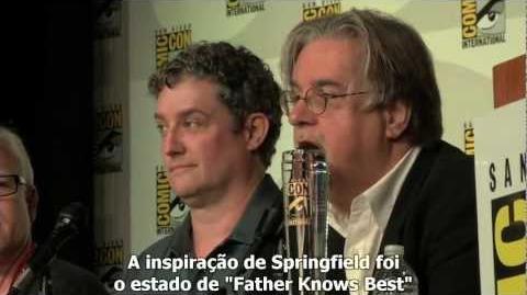 Os Simpsons - Painel Da Comic-Con 2012 - Legendado
