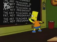 The Debarted Chalkboard Gag