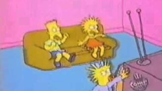 The Simpsons shorts - Watching TV