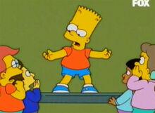 Bart contando estória 18x14