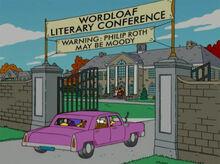 Conferência literária wordloaf entrada