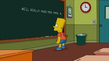 Four Regrettings and a Funeral (Chalkboard Gag)