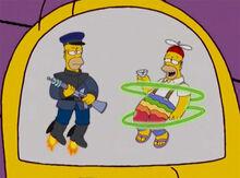 Homer serio prendeu homer engraçado