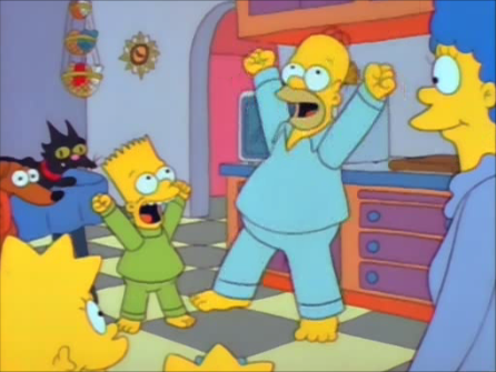 File:Homer and bart horray.png