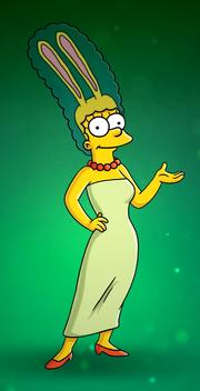 Marge's bunny ears