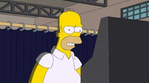 THE SIMPSONS - Homer Votes 2012