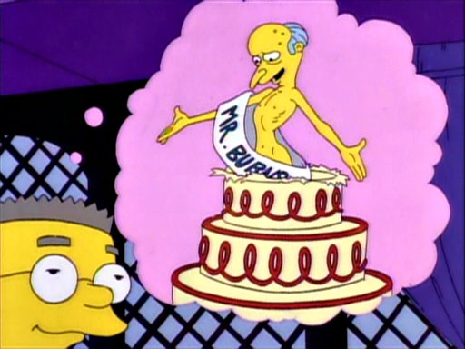 Happy Birthday Mr Smithers Simpsons Wiki Fandom Powered By Wikia
