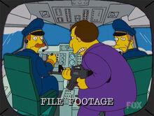 Quimby sequestra avião