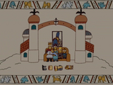 Medieval Tapestry couch gag