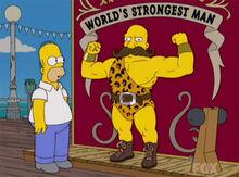 Homer robusto world's strongest man